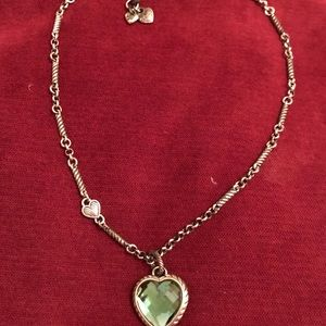 Beautiful Brighton Heart Necklace